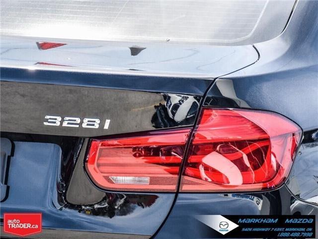 2016 BMW 328i xDrive (Stk: D190321A) in Markham - Image 7 of 30