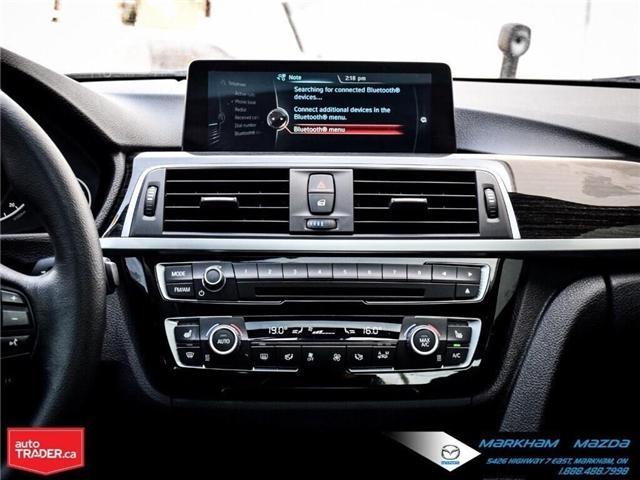 2016 BMW 328i xDrive (Stk: D190321A) in Markham - Image 17 of 30