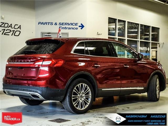 2016 Lincoln MKX Reserve (Stk: D5190500A) in Markham - Image 6 of 26