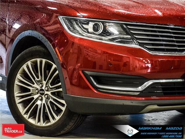 2016 Lincoln MKX Reserve (Stk: D5190500A) in Markham - Image 8 of 26