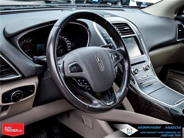 2016 Lincoln MKX Reserve (Stk: D5190500A) in Markham - Image 10 of 26