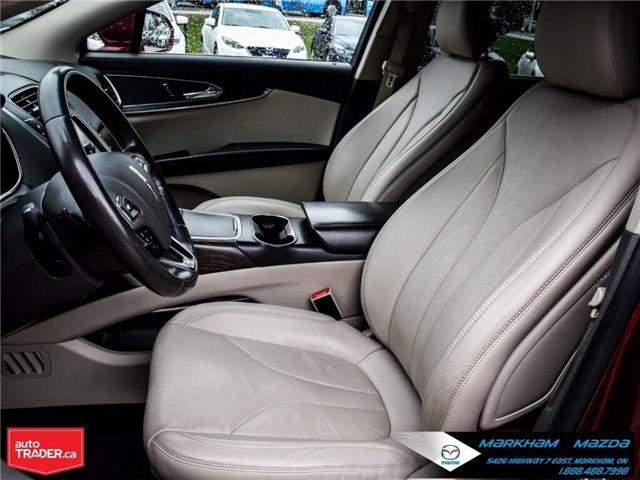 2016 Lincoln MKX Reserve (Stk: D5190500A) in Markham - Image 11 of 26