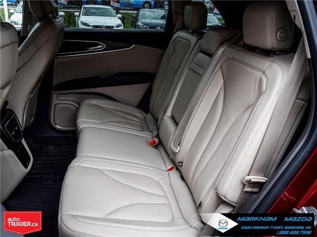 2016 Lincoln MKX Reserve (Stk: D5190500A) in Markham - Image 12 of 26