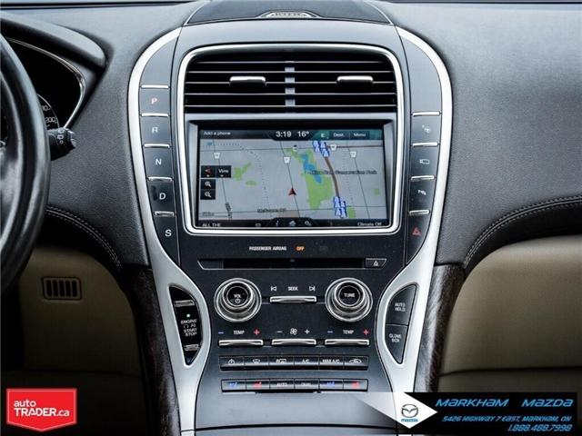 2016 Lincoln MKX Reserve (Stk: D5190500A) in Markham - Image 14 of 26