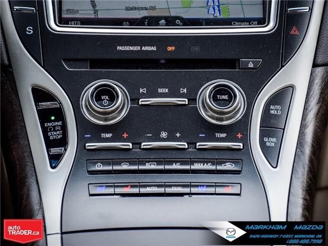 2016 Lincoln MKX Reserve (Stk: D5190500A) in Markham - Image 17 of 26