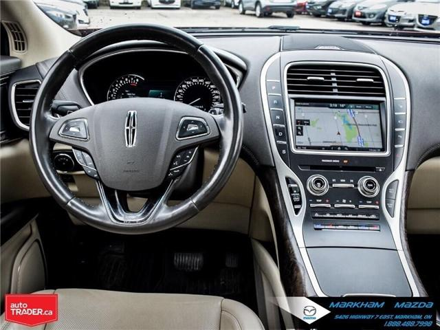2016 Lincoln MKX Reserve (Stk: D5190500A) in Markham - Image 19 of 26
