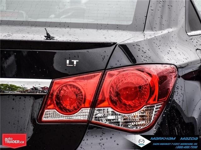 2013 Chevrolet Cruze LT Turbo (Stk: H190169A) in Markham - Image 6 of 28