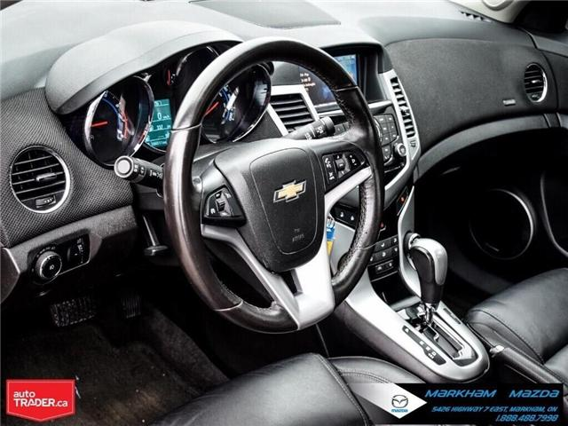 2013 Chevrolet Cruze LT Turbo (Stk: H190169A) in Markham - Image 12 of 28
