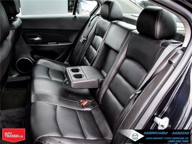 2013 Chevrolet Cruze LT Turbo (Stk: H190169A) in Markham - Image 14 of 28