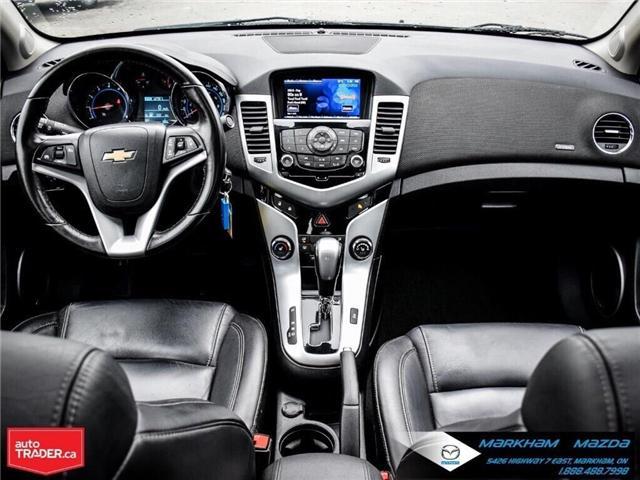 2013 Chevrolet Cruze LT Turbo (Stk: H190169A) in Markham - Image 21 of 28