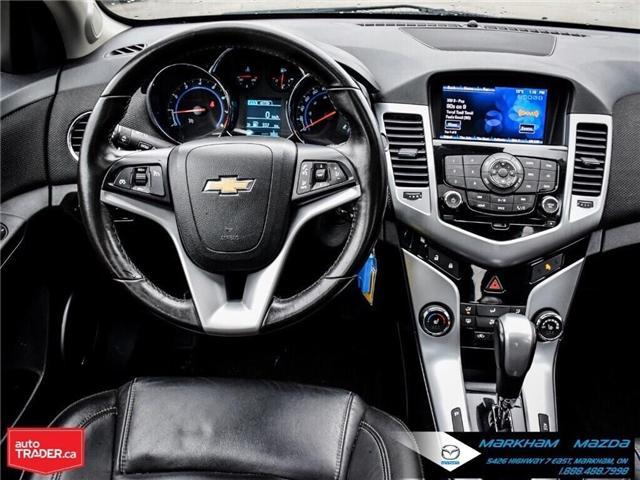 2013 Chevrolet Cruze LT Turbo (Stk: H190169A) in Markham - Image 22 of 28