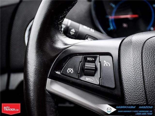 2013 Chevrolet Cruze LT Turbo (Stk: H190169A) in Markham - Image 23 of 28