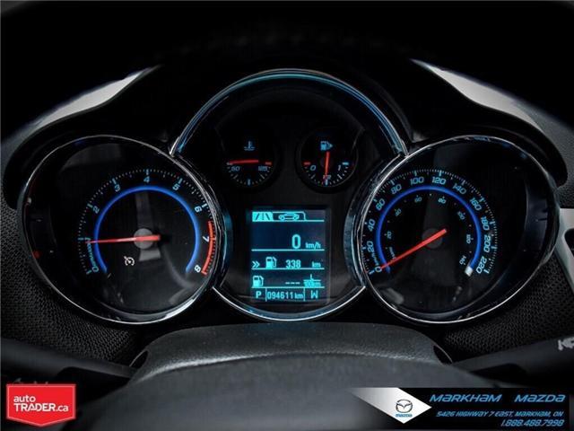 2013 Chevrolet Cruze LT Turbo (Stk: H190169A) in Markham - Image 24 of 28
