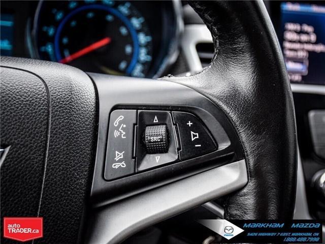 2013 Chevrolet Cruze LT Turbo (Stk: H190169A) in Markham - Image 25 of 28