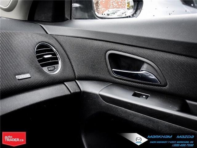 2013 Chevrolet Cruze LT Turbo (Stk: H190169A) in Markham - Image 26 of 28