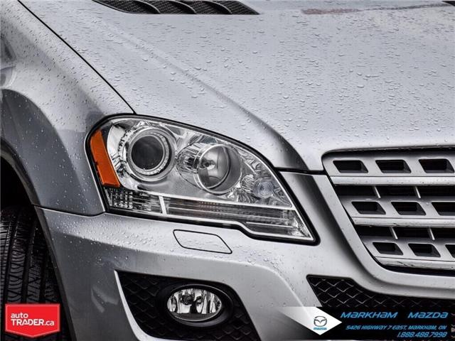 2010 Mercedes-Benz M-Class Base (Stk: H190575A) in Markham - Image 8 of 27