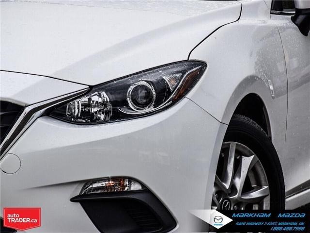 2016 Mazda Mazda3 GS (Stk: D5190303A) in Markham - Image 9 of 27