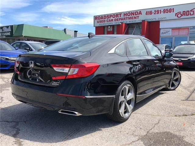 2018 Honda Accord Touring 2.0T (Stk: 57376A) in Scarborough - Image 5 of 24