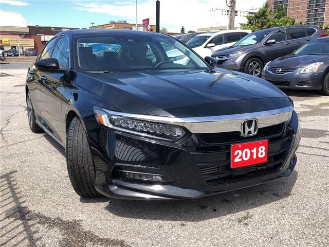 2018 Honda Accord Touring 2.0T (Stk: 57376A) in Scarborough - Image 6 of 24