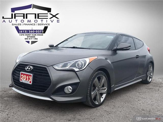 2013 Hyundai Veloster Turbo (Stk: 19194-A) in Ottawa - Image 1 of 24