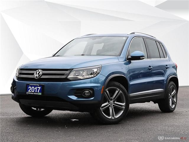 2017 Volkswagen Tiguan Highline (Stk: TR5702) in Windsor - Image 1 of 25