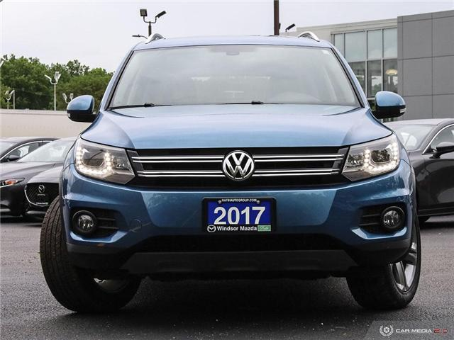 2017 Volkswagen Tiguan Highline (Stk: TR5702) in Windsor - Image 2 of 25
