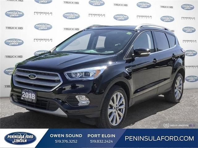 2018 Ford Escape Titanium (Stk: 1791) in Owen Sound - Image 1 of 24