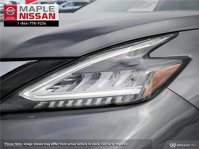 2019 Nissan Murano SL (Stk: M19M025) in Maple - Image 10 of 23