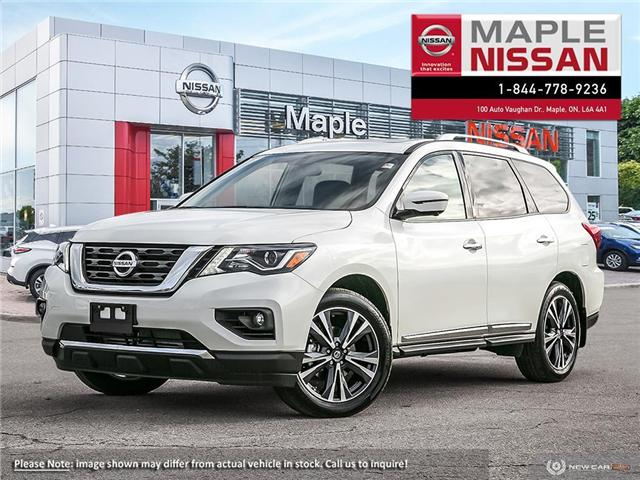 2019 Nissan Pathfinder Platinum (Stk: M19P028) in Maple - Image 1 of 10