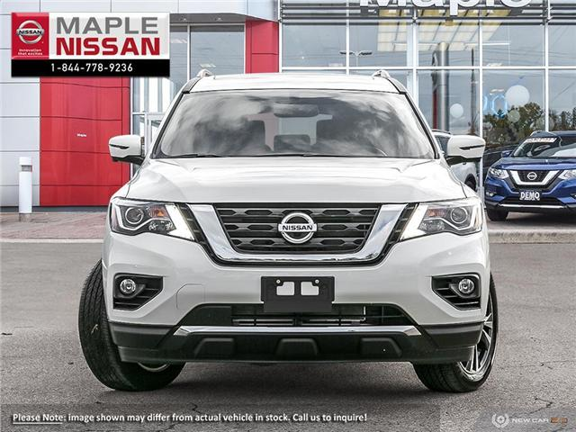 2019 Nissan Pathfinder Platinum (Stk: M19P028) in Maple - Image 2 of 10