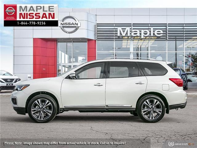 2019 Nissan Pathfinder Platinum (Stk: M19P028) in Maple - Image 3 of 10