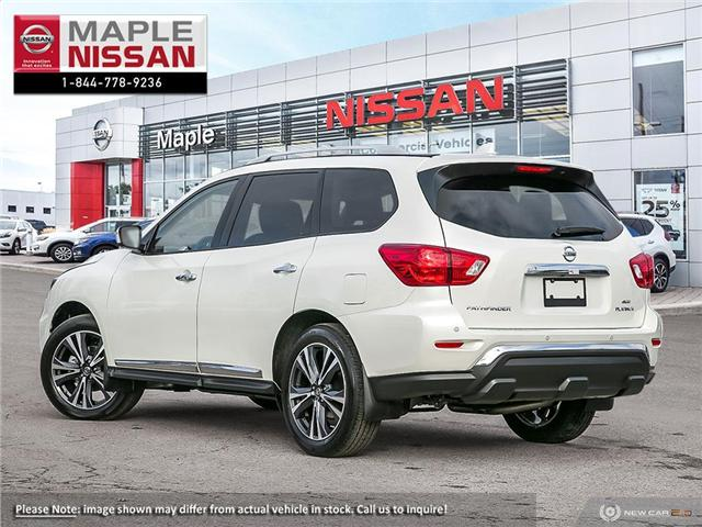 2019 Nissan Pathfinder Platinum (Stk: M19P028) in Maple - Image 4 of 10