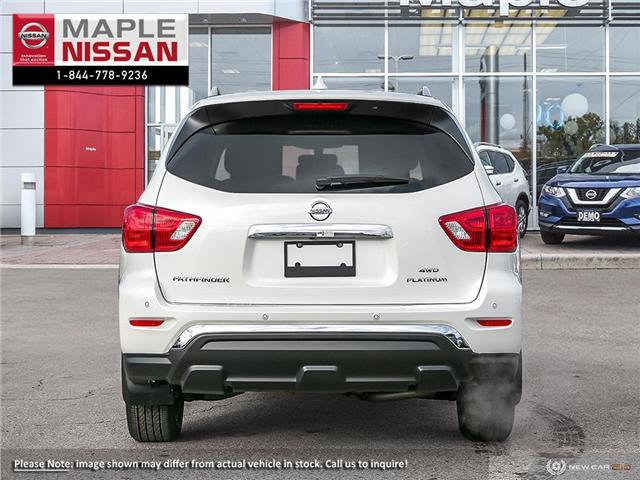 2019 Nissan Pathfinder Platinum (Stk: M19P028) in Maple - Image 5 of 10