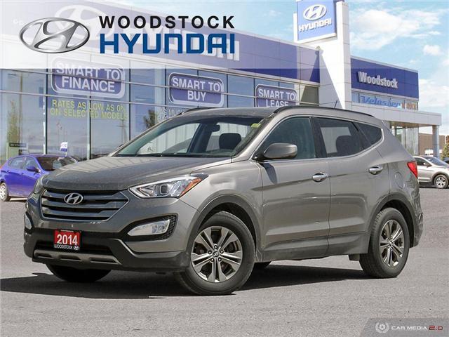 2014 Hyundai Santa Fe Sport 2.4 Premium (Stk: HD19000A) in Woodstock - Image 1 of 27