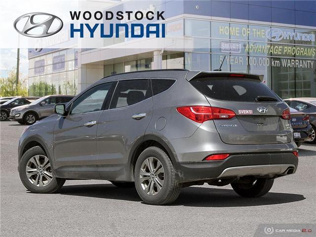 2014 Hyundai Santa Fe Sport 2.4 Premium (Stk: HD19000A) in Woodstock - Image 4 of 27