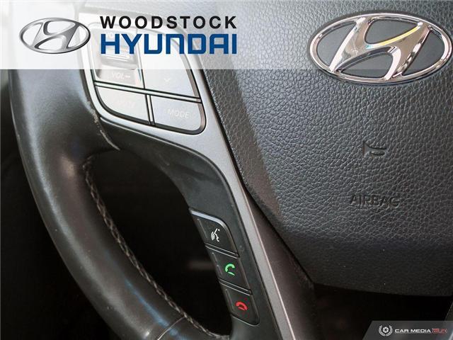 2014 Hyundai Santa Fe Sport 2.4 Premium (Stk: HD19000A) in Woodstock - Image 11 of 27
