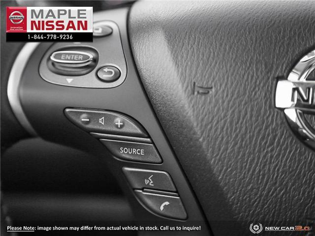 2019 Nissan Pathfinder SL Premium (Stk: M19P019) in Maple - Image 15 of 23