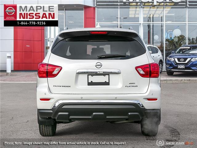 2019 Nissan Pathfinder Platinum (Stk: M19P011) in Maple - Image 5 of 23