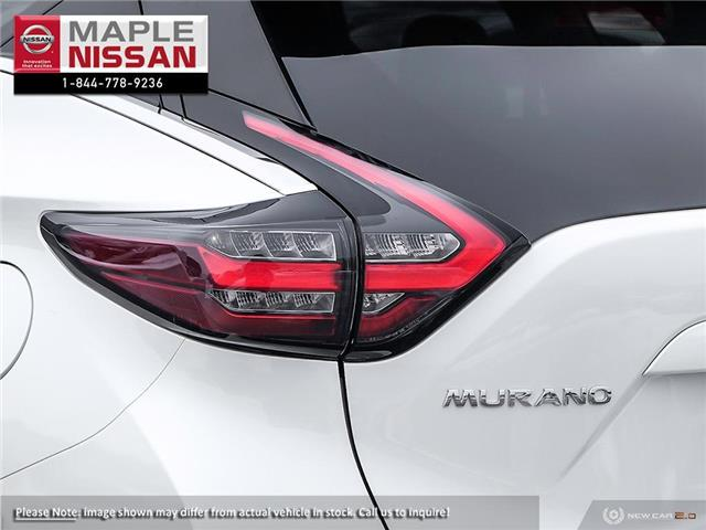 2019 Nissan Murano SL (Stk: M19M034) in Maple - Image 11 of 23