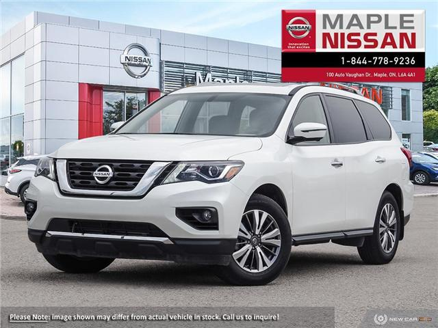 2018 Nissan Pathfinder SL Premium (Stk: M19P063) in Maple - Image 1 of 9