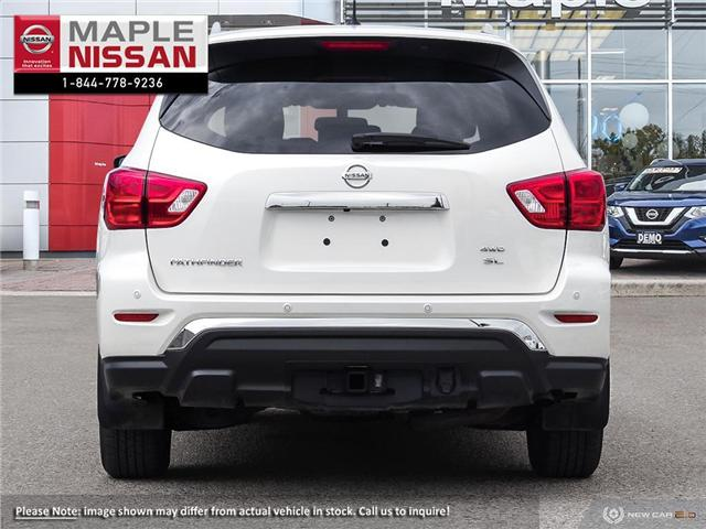 2018 Nissan Pathfinder SL Premium (Stk: M19P063) in Maple - Image 5 of 9