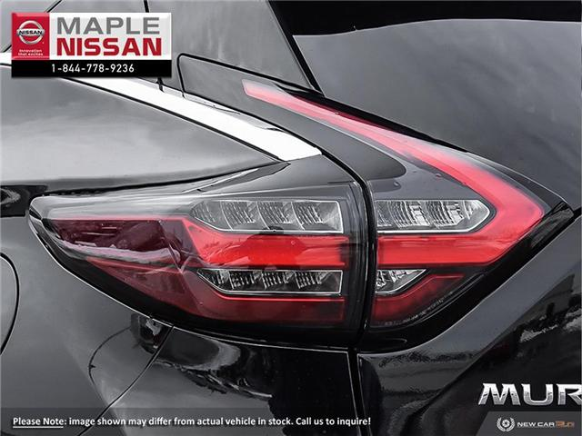 2019 Nissan Murano SL (Stk: M19M022) in Maple - Image 11 of 23