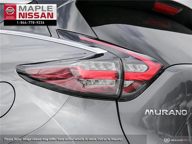 2019 Nissan Murano SL (Stk: M19M019) in Maple - Image 11 of 23