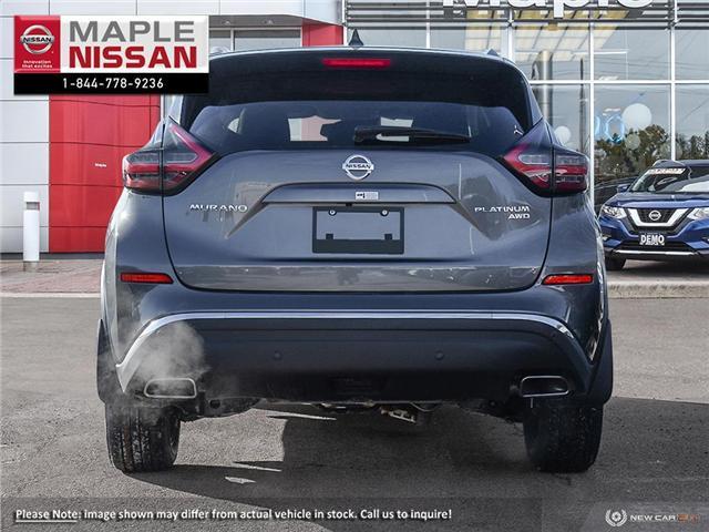 2019 Nissan Murano Platinum (Stk: M19M026) in Maple - Image 5 of 23