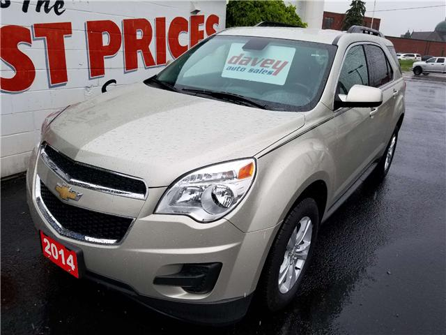 2014 Chevrolet Equinox 1LT (Stk: 19-389) in Oshawa - Image 1 of 14