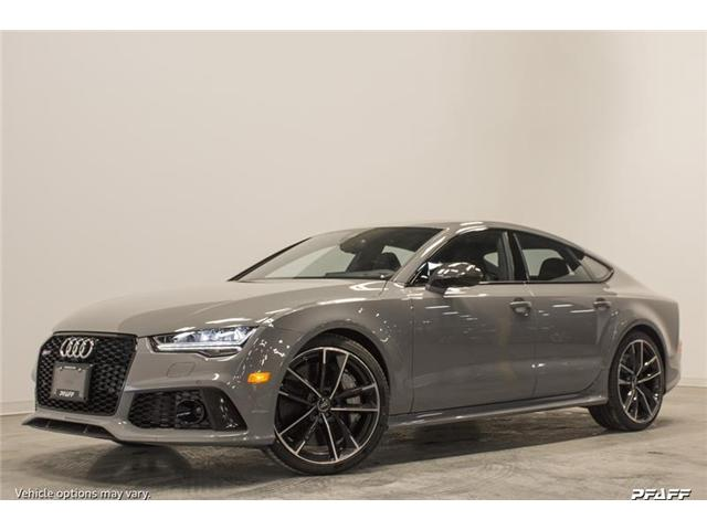 2018 Audi RS 7 4.0T performance (Stk: T13518) in Woodbridge - Image 1 of 7