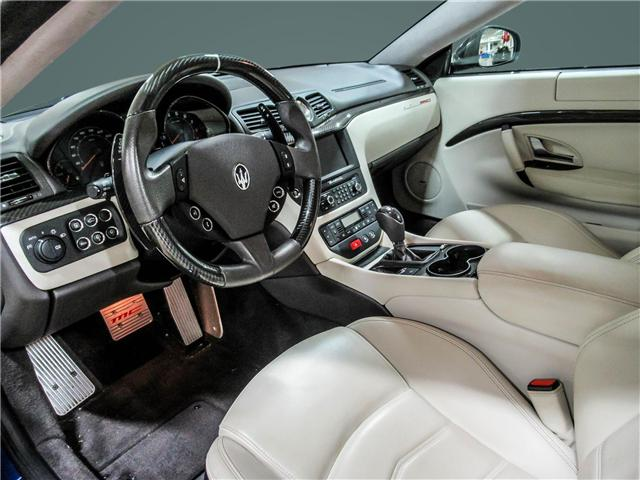 2014 Maserati GranTurismo Sport (Stk: U4184) in Vaughan - Image 11 of 22