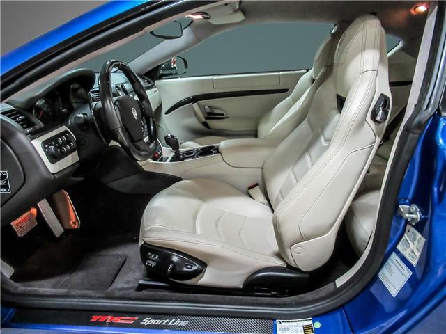 2014 Maserati GranTurismo Sport (Stk: U4184) in Vaughan - Image 12 of 22