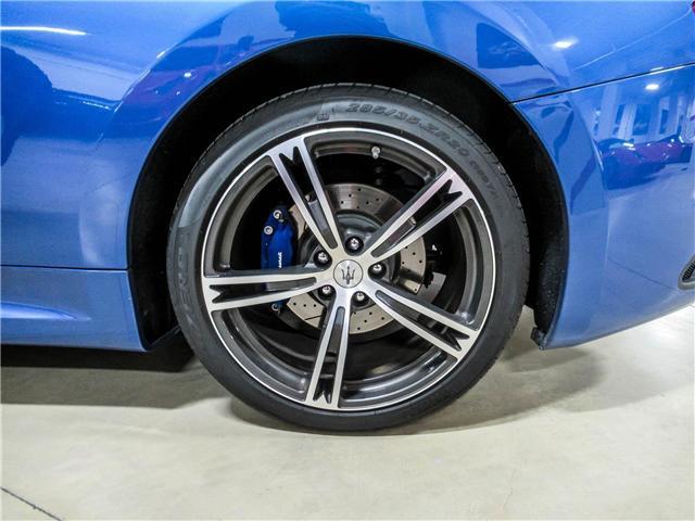 2014 Maserati GranTurismo Sport (Stk: U4184) in Vaughan - Image 16 of 22
