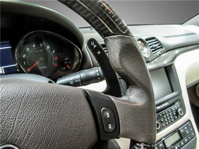 2014 Maserati GranTurismo Sport (Stk: U4184) in Vaughan - Image 18 of 22